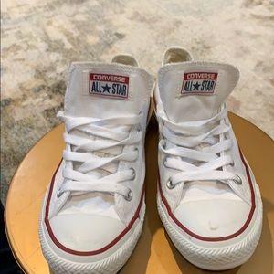 Converse Allstar white canvas sneaker